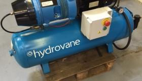 Hydrovane HV02 Compressor on Receiver