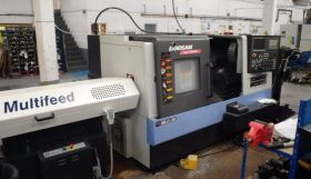 Doosan Lynx 220LMSA Driven Tool Sub Spindle Turning Centre