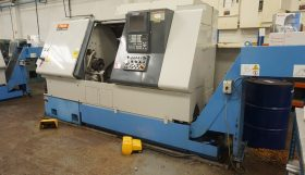 Mazak Sqt 200MS Sub Spindle Driven Tool Turning Centre