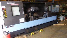 Doosan Puma 400LMB Driven Tool CNC Lathe