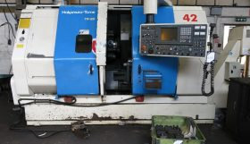 Nakamura TW20MM Twin Turret Twin Spindle 6 axis Turning Centre