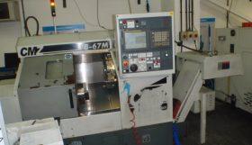 CMZ TB67 2 Axis CNC Lathe