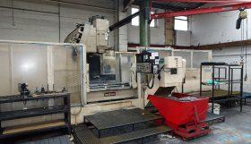 Makino FNC156 Twin Pallet CNC Vertical Machining Centre