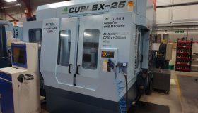 Matsuura Cubex 25 5 Axis Turn/Mill Twin Pallet Vertical Machining Centre