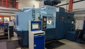 Matsuura Cubex 42 5 Axis Turn/Mill Twin Pallet Vertical Machining Centre