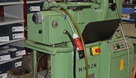 Mikron 102.05MPS Gear Hobber