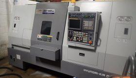 Hyundai Kia SKT300MS CNC Driven Tool Sub-Spindle Lathe