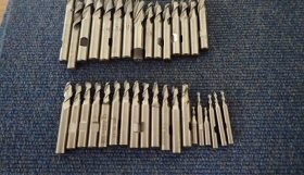 Various used High Speed Steel Slotdrills