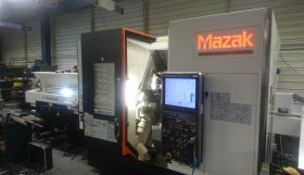 Mazak Hyper Quadrex 150MSY CNC Lathe