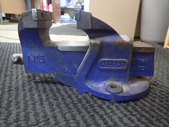Record No 3 Bench Vice Steven Mooney Machinery