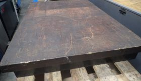 Granite table 600 x 900 x 100mm thick