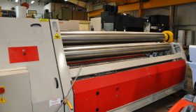 Morgan Rushworth Hydraulic Powered Bending Rolls