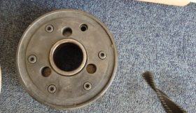 Wheel flange for J & S 1300