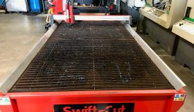 Swift-Cut 3000 Water Table MKIII with Console (No Plasma cutter – set up for PMX125)