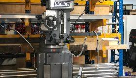 Semco LC195VS Turret Mill