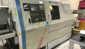 Hardinge Quest 8 51 CNC Driven Tool Sub-Spindle CNC Lathe