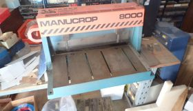 Manucrop 8000 Guillotine