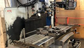XYZ SM 5000 CNC Bed Mill