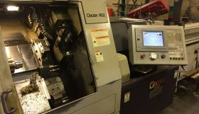 Citizen M32-III 13 Axis CNC Sliding Headstock Lathe