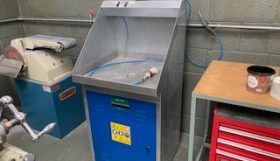 Solutex Cleaning tank, 600 x 600mm