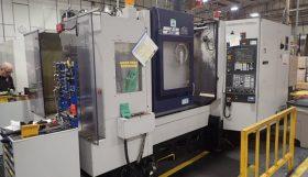 Mori Seiki Hitech HS500 CNC Twin Pallet Horizontal Machining Centre
