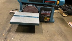 Clark Woodworking Linisher and disc sander