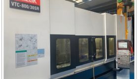 Mazak VTC800/30SR 5 Axis Vertical Travelling Column