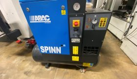Abac Spinn 310 200 Screw Compressor
