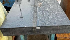 Granite Surface table on stand
