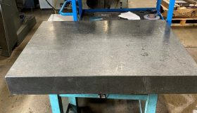 Granite Table, 3ft x 4ft on stand