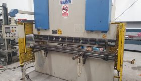 ERMAK Model AP60 – 60 Ton x 2600mm Over Bed Downstroke Twin Axis NC Press Brake